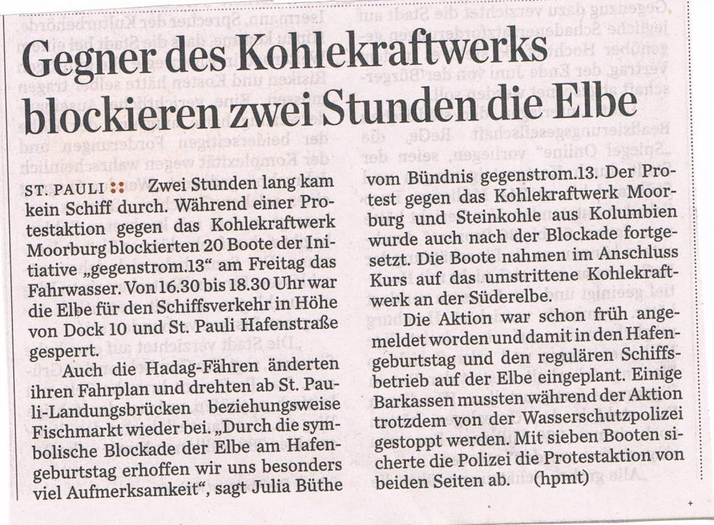 Hamburger Abendblatt 11.5.