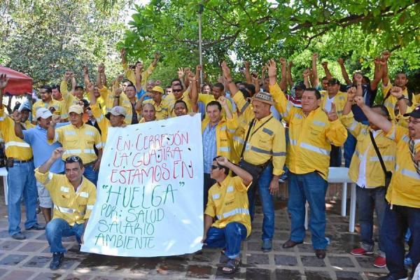Streik Cerrejón