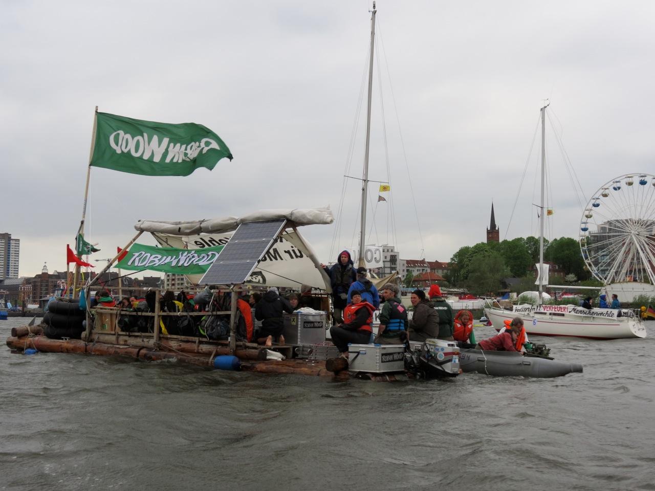 Rowo in der Blockade